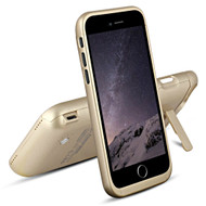 Power Bank Battery Case 3500mAh with Kickstand for iPhone 7 - Gold