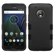 Military Grade Certified TUFF Hybrid Armor Case for Motorola Moto G5 Plus - Black