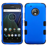 Military Grade Certified TUFF Hybrid Armor Case for Motorola Moto G5 Plus - Blue