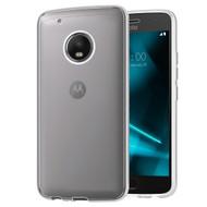 Rubberized Crystal Case for Motorola Moto G5 Plus - Clear