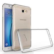 Polymer Transparent Hybrid Case for Samsung Galaxy J7 (2017) / J7 V / J7 Perx - Clear