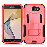 *SALE* Transformer Hybrid Armor Case with Stand for Samsung Galaxy J7 (2017) / J7 V / J7 Perx - Red