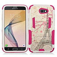 *SALE* Transformer Hybrid Armor Case with Stand for Samsung Galaxy J7 (2017) / J7 V / J7 Perx - Eiffel Tower