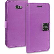 *SALE* Essential Leather Wallet Case for Samsung Galaxy J7 (2017) / J7 V / J7 Perx - Purple