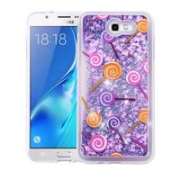 Quicksand Glitter Transparent Case for Samsung Galaxy J7 (2017) / J7 V / J7 Perx - Lollipop
