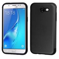 Slim Armor Multi-Layer Hybrid Case for Samsung Galaxy J7 (2017) / J7 V / J7 Perx - Black