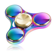 *SALE* Titanium Alloy Fidget Finger Spinner Hand Spinning Toy - Rainbow