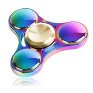 *SALE* Titanium Alloy Fidget Finger Spinner Hand Spinning Toy - Rainbow