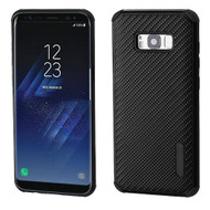 *Sale* Rugged Weave Multi-Layer Hybrid Case for Samsung Galaxy S8 Plus - Black
