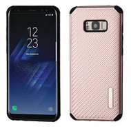 Rugged Weave Multi-Layer Hybrid Case for Samsung Galaxy S8 Plus - Rose Gold