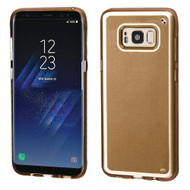 Premium TPU Gel Case for Samsung Galaxy S8 Plus - Gold