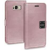 *SALE* Essential Leather Wallet Case for Samsung Galaxy S8 - Rose Gold