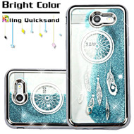*SALE* Quicksand Case for Samsung Galaxy J3 (2017) / J3 Emerge / J3 Prime / Amp Prime 2 / Sol 2 - Dreamcatcher Silver