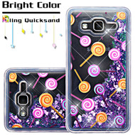 *Sale* Quicksand Glitter Transparent Case for Samsung Galaxy On5 - Lollipop