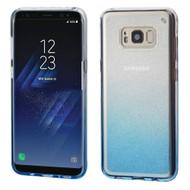 Premium Sparkling Sheer Glitter Candy Case for Samsung Galaxy S8 - Gradient Blue
