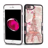 *Sale* TUFF Panoview Transparent Hybrid Diamond Case for iPhone 7 Plus - Eiffel Tower