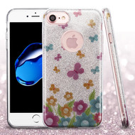 *Sale* Full Glitter Hybrid Protective Case for iPhone 7 - Butterfly