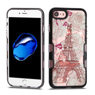 TUFF Panoview Transparent Hybrid Diamond Case for iPhone 8 / 7 - Eiffel Tower
