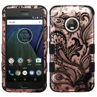 Military Grade Certified TUFF Image Hybrid Armor Case for Motorola Moto G5 Plus - Phoenix Rose Gold