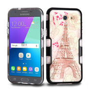 *Sale* TUFF Panoview Case for Samsung Galaxy J3 (2017) / J3 Emerge / J3 Prime / Amp Prime 2 / Sol 2 - Eiffel Tower