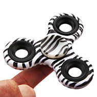 Original Design Fidget Finger Spinner Hand Spinning Toy - Zebra