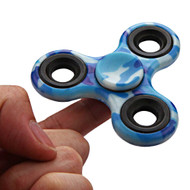 Original Design Fidget Finger Spinner Hand Spinning Toy - Camouflage Blue