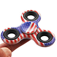 Original Design Fidget Finger Spinner Hand Spinning Toy - USA Flag
