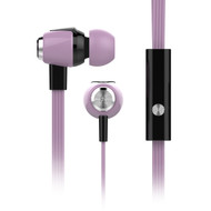 HyperGear dBm Wave Special Edition Pastel 3.5mm Stereo Earphones with Mic - Rose