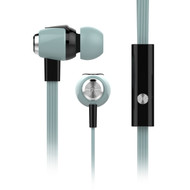 HyperGear dBm Wave Special Edition Pastel 3.5mm Stereo Earphones with Mic - Teal