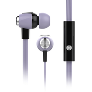 HyperGear dBm Wave Special Edition Pastel 3.5mm Stereo Earphones with Mic - Lilac