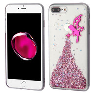 *Sale* Krystal Gel Series Glitter Transparent TPU Case for iPhone 7 Plus - Fairy