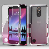 TUFF Panoview Transparent Hybrid Case for LG K20 Plus / K20 V / K10 (2017) / Harmony - Gradient Pink