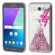 Krystal Gel Transparent Case for Samsung Galaxy J3 (2017) / J3 Emerge / J3 Prime / Amp Prime 2 / Sol 2 - Fairy