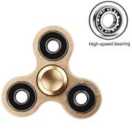 Titanium Alloy Fidget Finger Spinner Hand Spinning Toy - Gold
