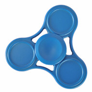 *Sale* Original Design Aluminum Alloy Fidget Finger Spinner Hand Spinning Toy - Blue