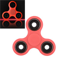 Luminous Glow In The Dark Fidget Finger Spinner Hand Spinning Toy - Coral Pink