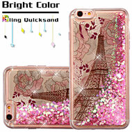 *SALE* Quicksand Glitter Transparent Case for iPhone 6 Plus / 6S Plus - Eiffel Tower