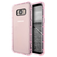 Duraproof Transparent Anti-Shock TPU Case for Samsung Galaxy S8 - Pink