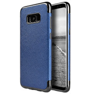 Saffiano Luxury Fusion Case for Samsung Galaxy S8 - Blue