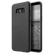 Saffiano Lite Luxury Fusion Case for Samsung Galaxy S8 - Black