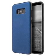 Saffiano Lite Luxury Fusion Case for Samsung Galaxy S8 - Blue