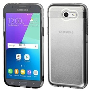 *Sale* Sparkling Sheer Glitter Case for Samsung Galaxy J3 (2017) / J3 Emerge / J3 Prime / Amp Prime 2 - Gradient Black