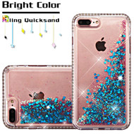 Diamond Quicksand Glitter Transparent Case for iPhone 8 Plus / 7 Plus - Blue