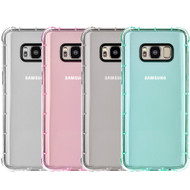 Duraproof Transparent Anti-Shock TPU Case for Samsung Galaxy S8 - 4 Pack
