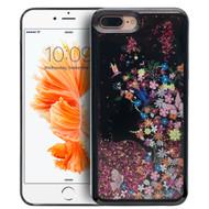 Electroplating Quicksand Glitter Case for iPhone 7 Plus - Secret Garden