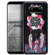 Electroplating Quicksand Glitter Case for Samsung Galaxy S8 - Dreamcatcher