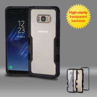 TUFF Vivid Hybrid Armor Case for Samsung Galaxy S8 Plus - Black