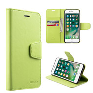 Urban Classic Leather Wallet Case for iPhone 7 Plus - Green