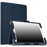 Leather Portfolio Smart Case for iPad Pro 10.5 inch - Navy Blue
