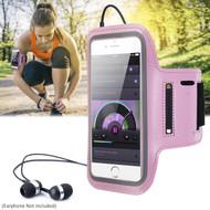 Ultra Slim Neoprene Sport Armband - Pink